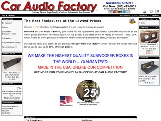 Car Audio Factory