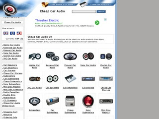 Cheap Car Audio UK