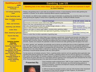 US Charitable Gaming Laws