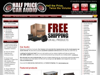 Half Price Car Audio